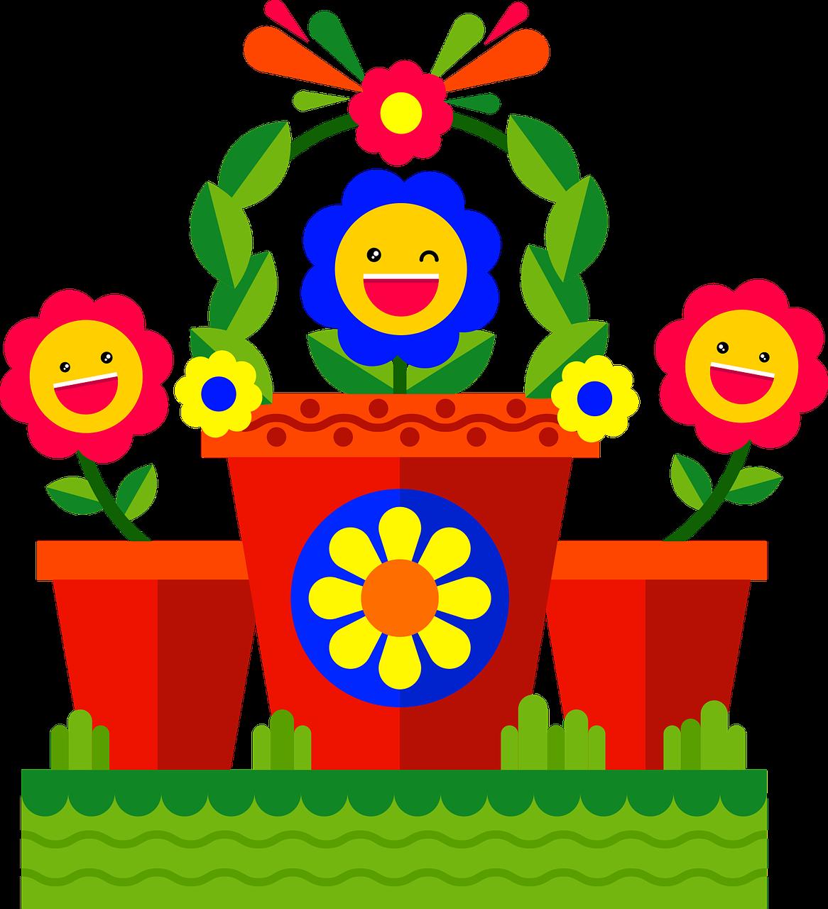 Emojiflowersgardennaturespring Free Photo From Needpixcom