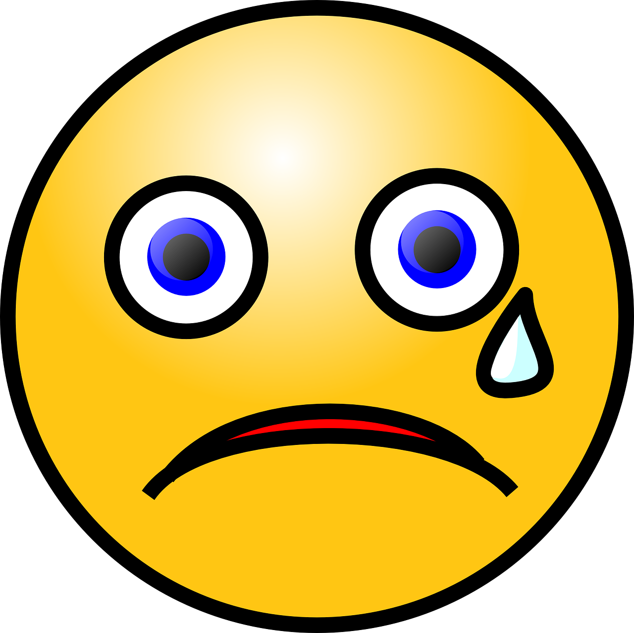 emoticon cry sad free photo