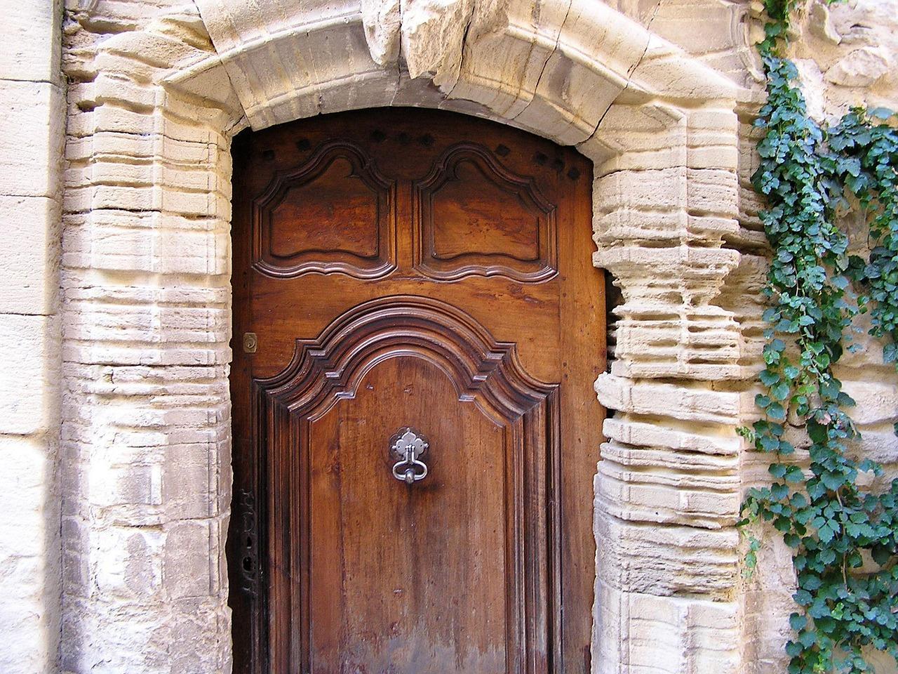 Entrance Door Antique Wooden Door - Entrance Door,antique,wooden Door,front Door,architecture - Free
