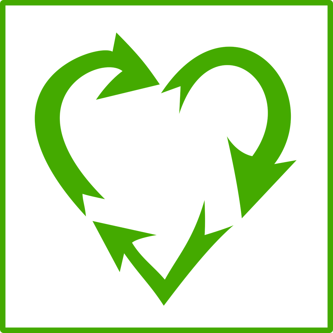 environment green heart free photo