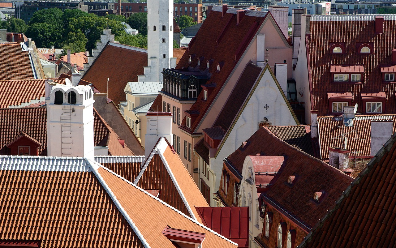 estonia tallinn roofing free photo