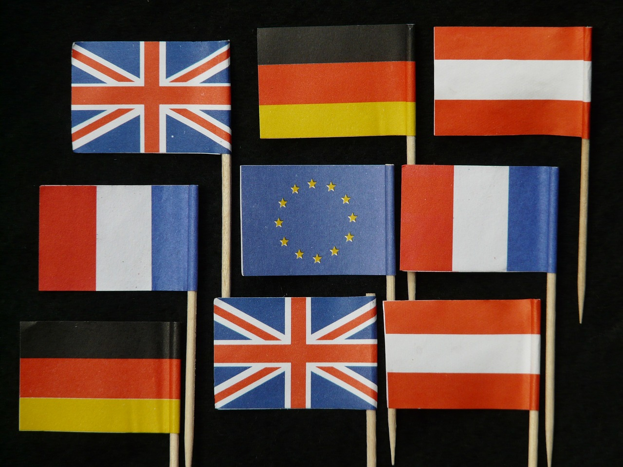 europe flags germany free photo