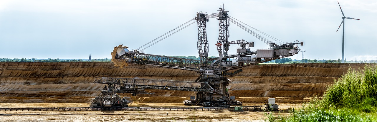 excavators bucket wheel excavators open pit mining free photo