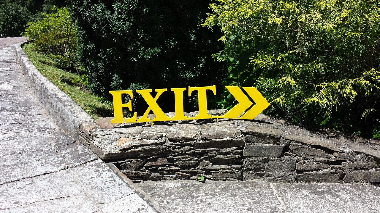 exit brexit botanical garden free photo