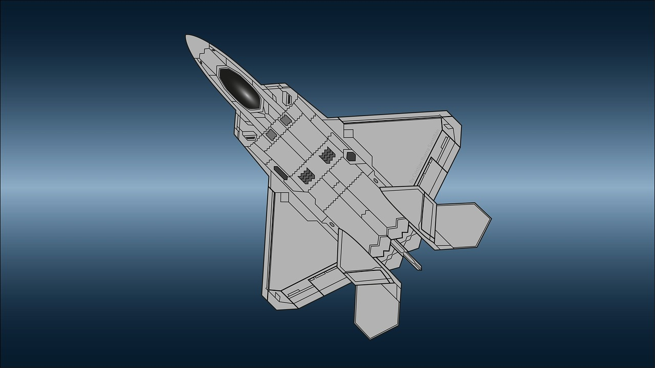 Download free photo of F22,raptor,airplane,stealth,air - from ...