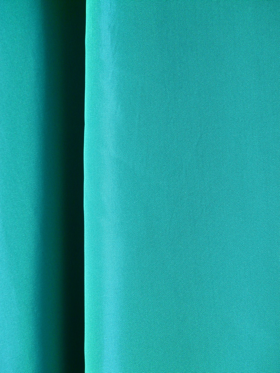 fabric curtain turquoise free photo
