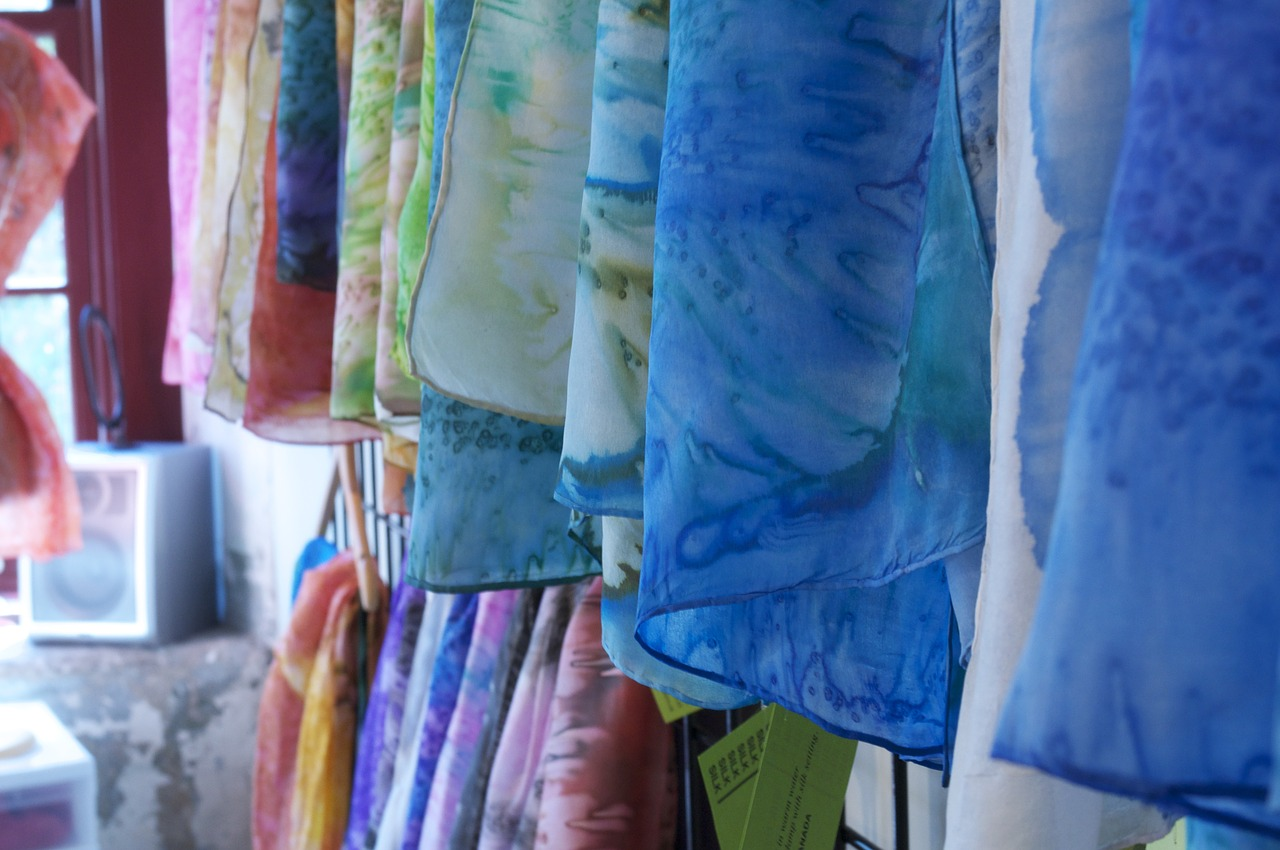 fabrics colour textile free photo