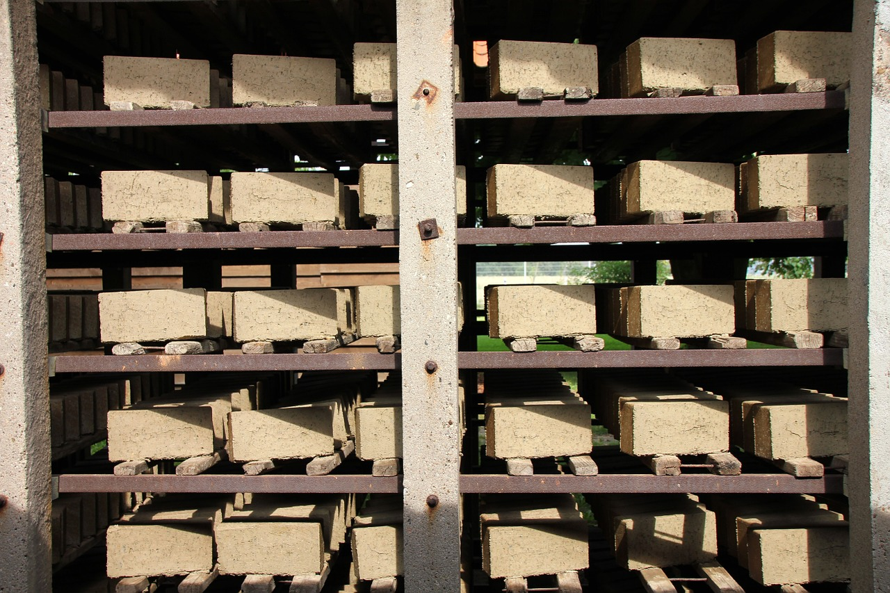 factory stock storage free photo