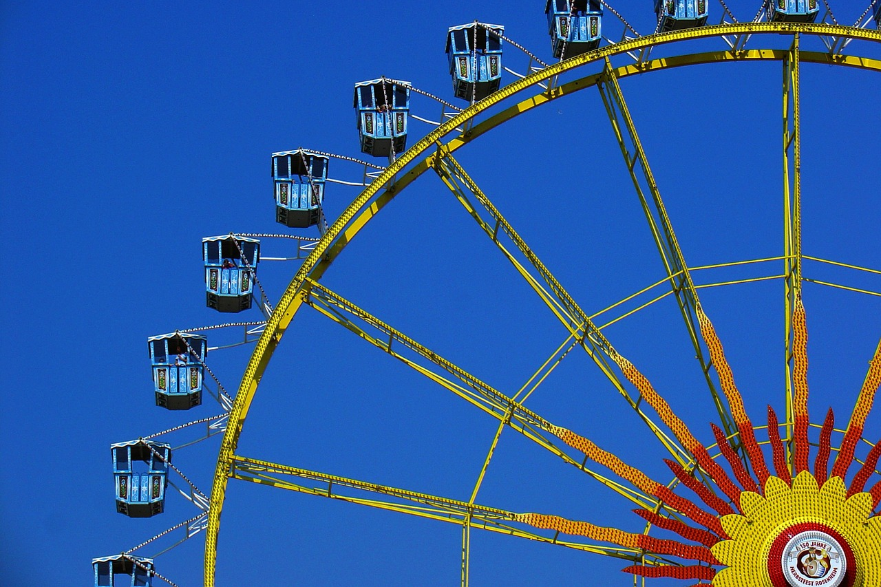 fair folk festival rides free photo