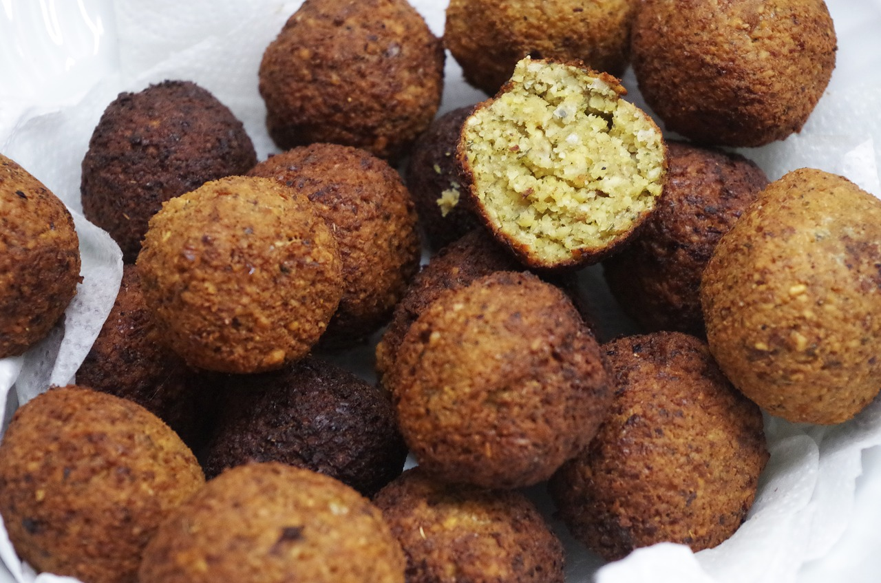 falafel middle east chickpeas free photo