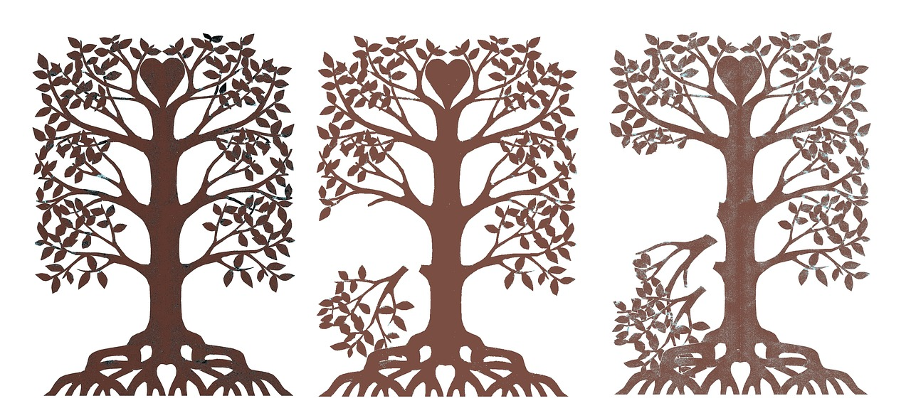 Family Tree Disintegrating Paper Cut Fading Free Pictures Free