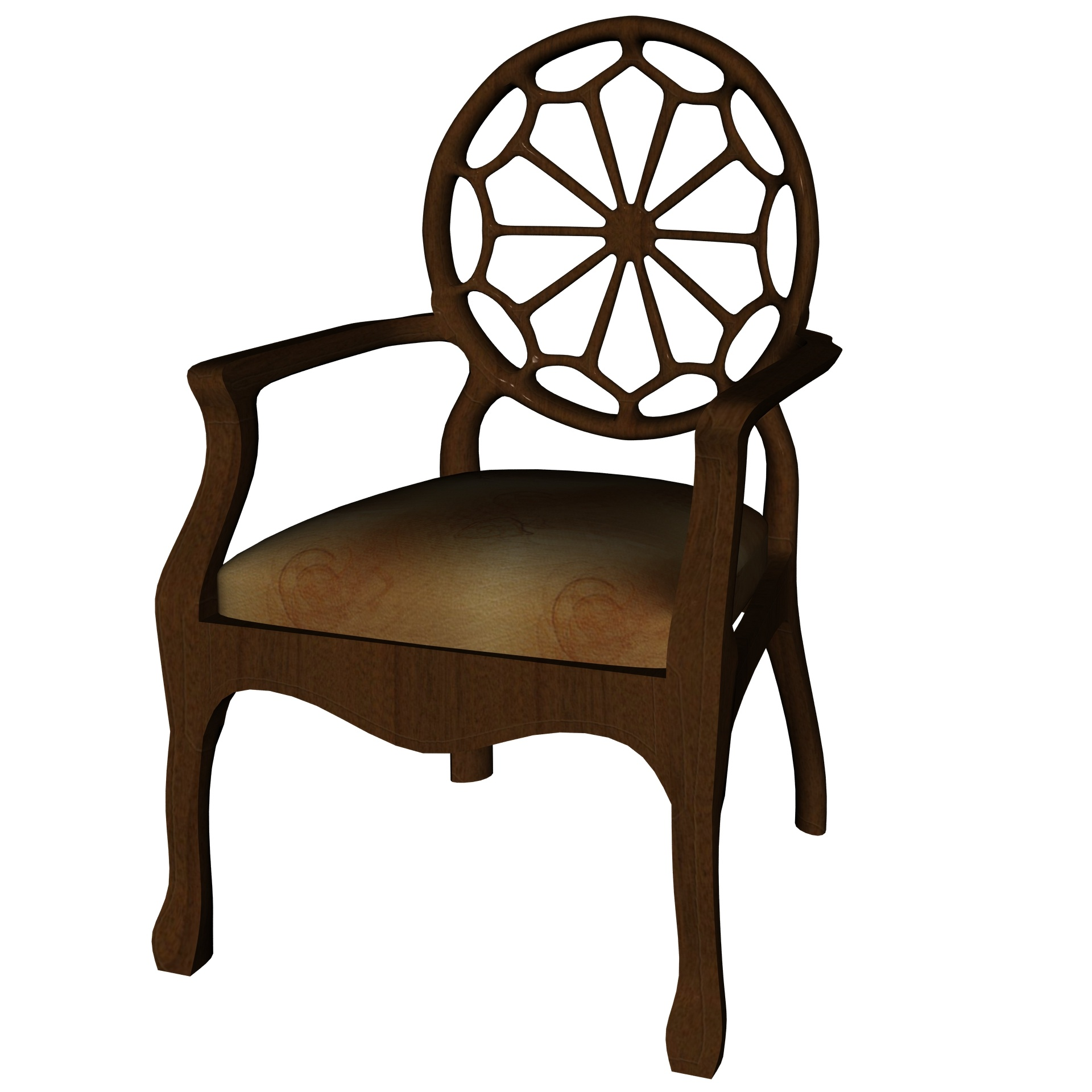 Drawing,fancy,chair,brown,3d - free photo from needpix com