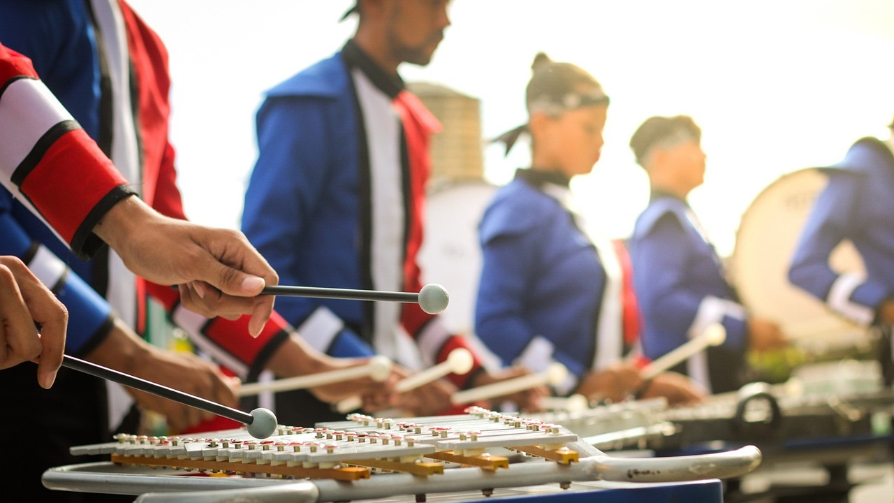 fanfare, marching band, xylophone, xilophone, musical, instrumental,free pictures, free photos, free images, royalty free, free illustrations, public domain