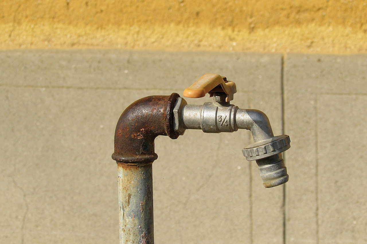 faucet line water pipe free photo