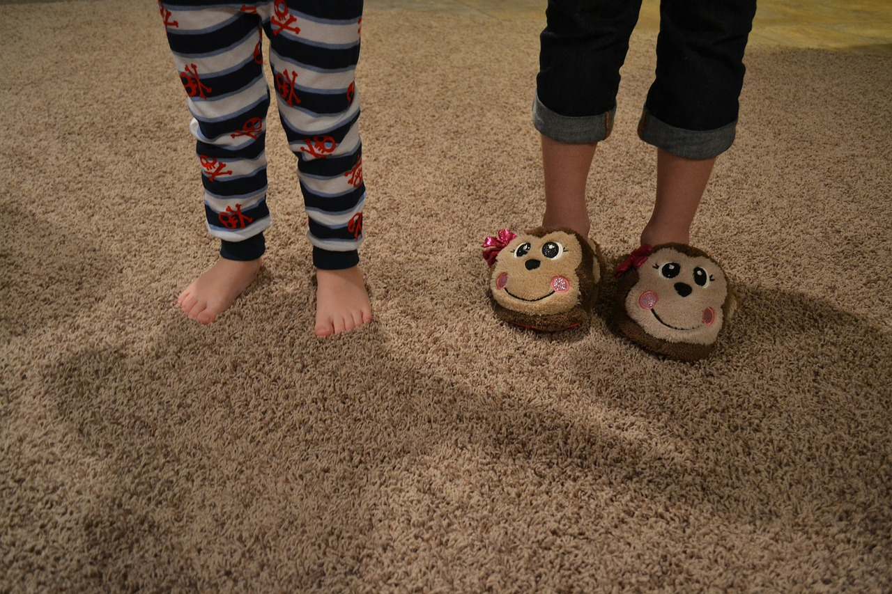 feet toes slippers free photo