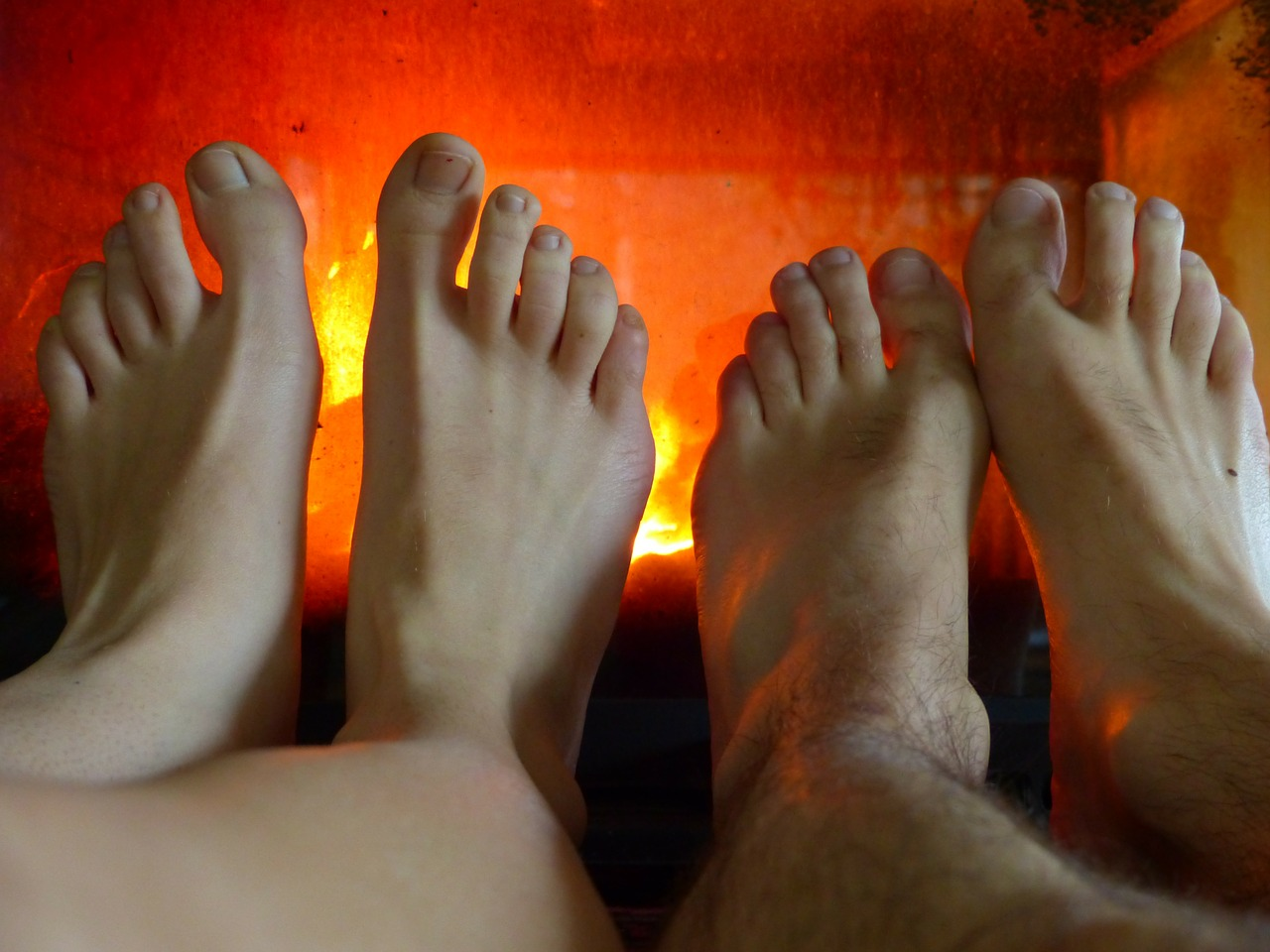 feet warm heat free photo