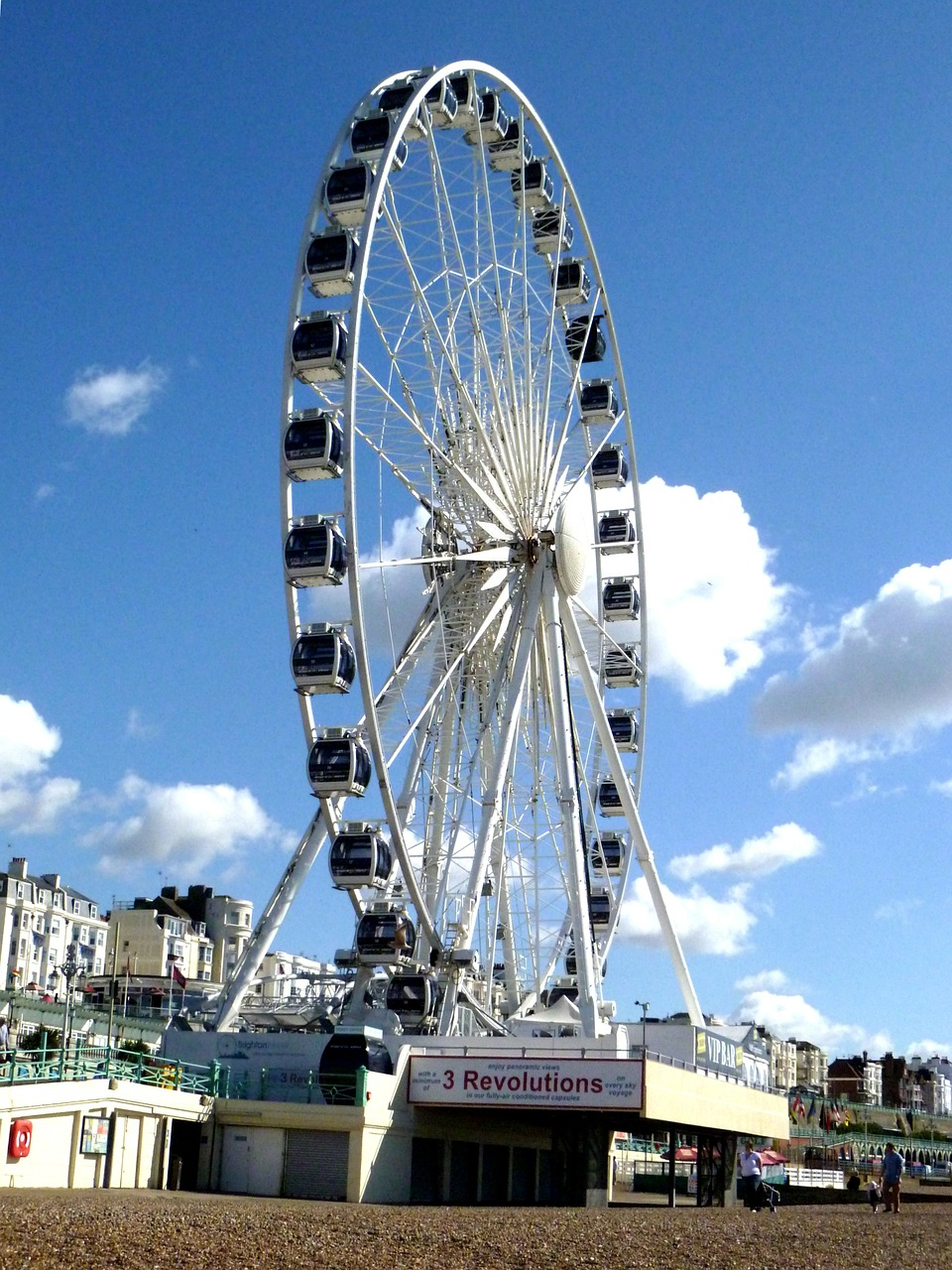 ferris wheel wheel of excellence tourist attraction free photo