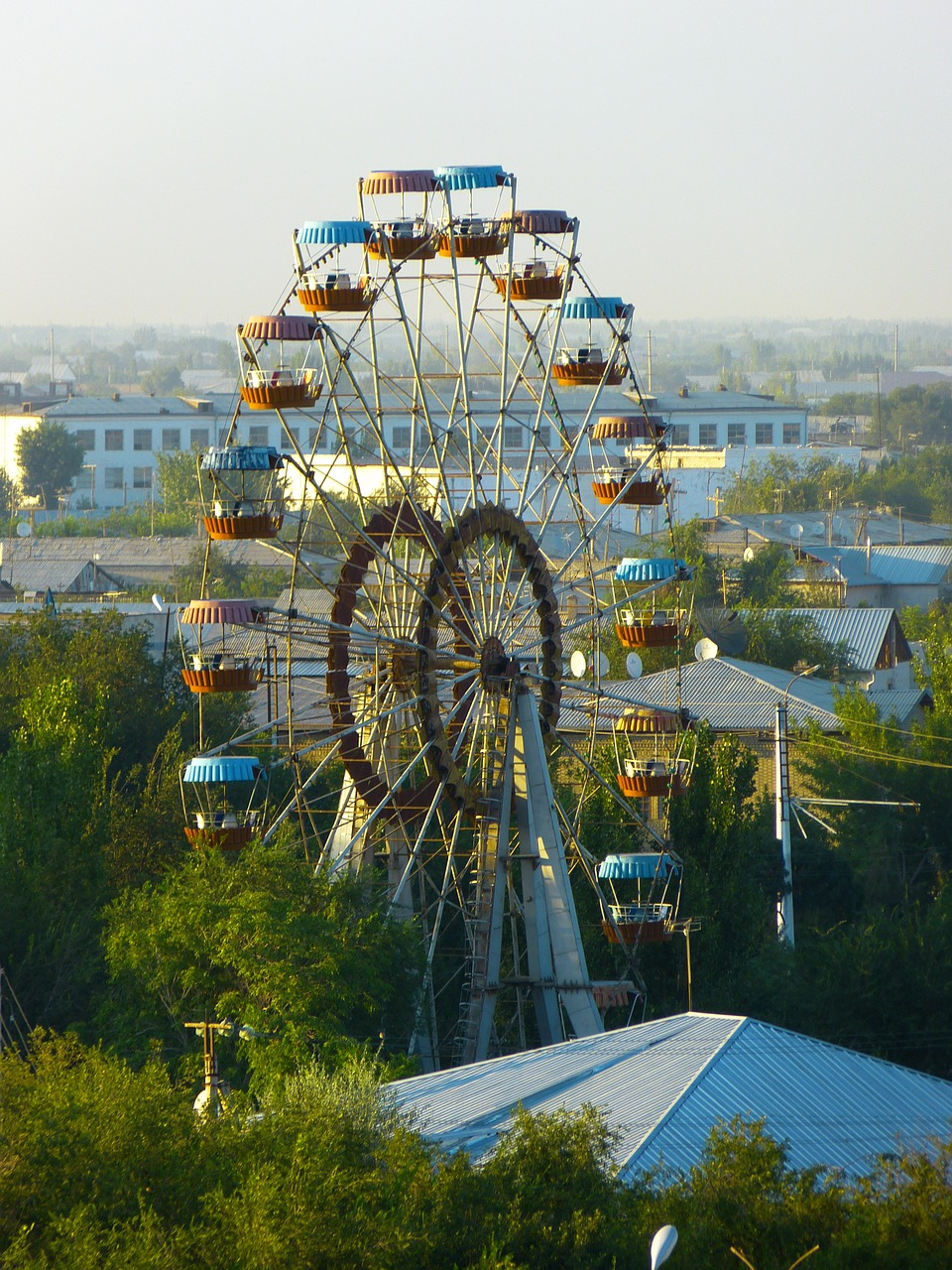 ferris wheel ride carousel free photo