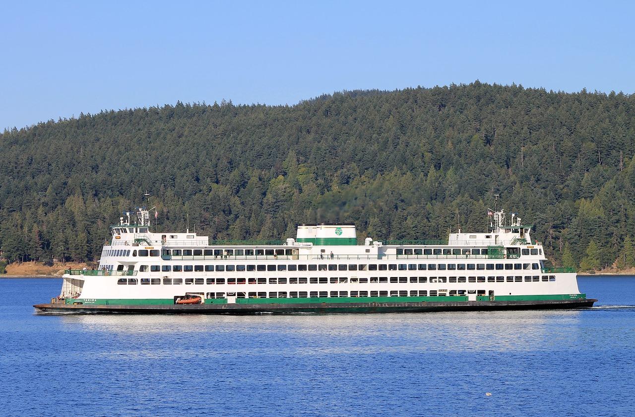 Ferry,washington state,puget sound,ocean,inlet - free photo