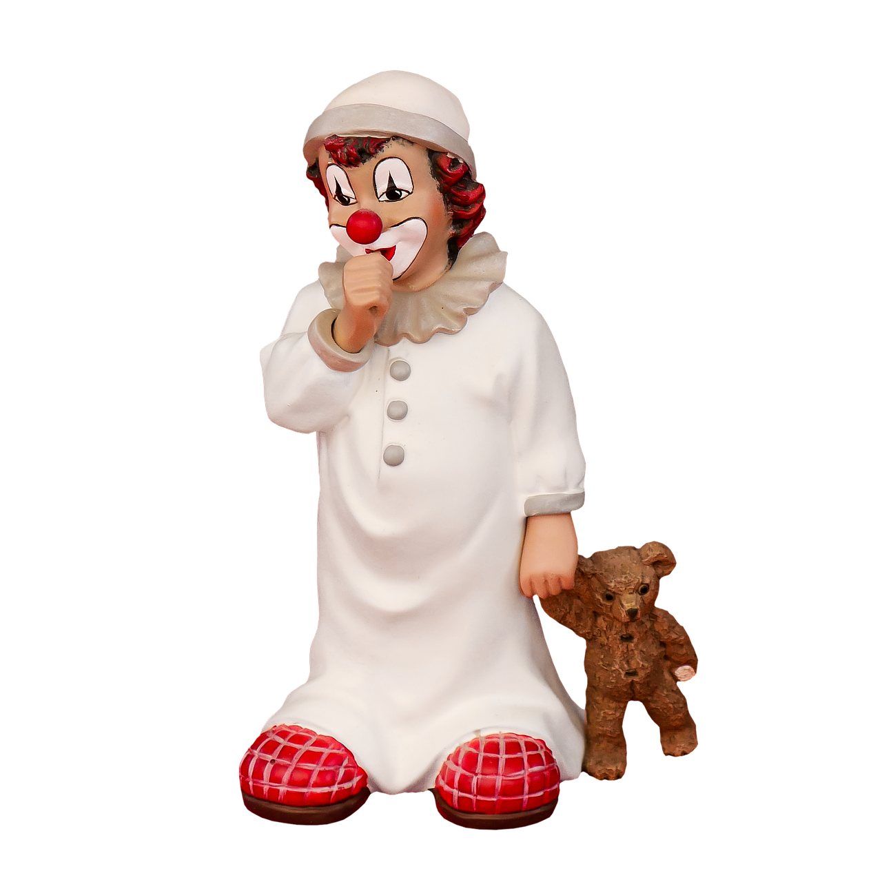 figure clown porcelain free photo