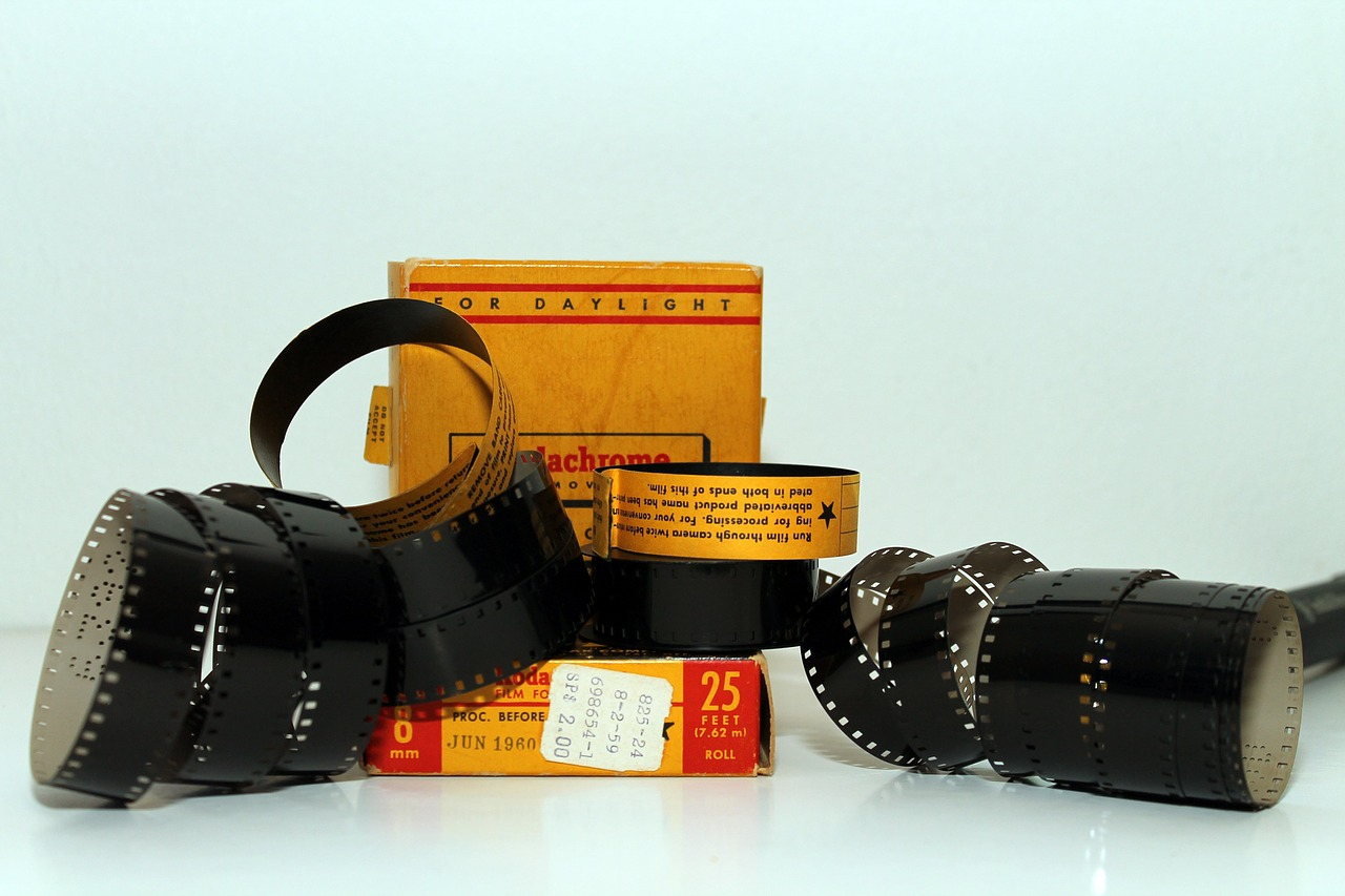 film 8 mm boxes free photo
