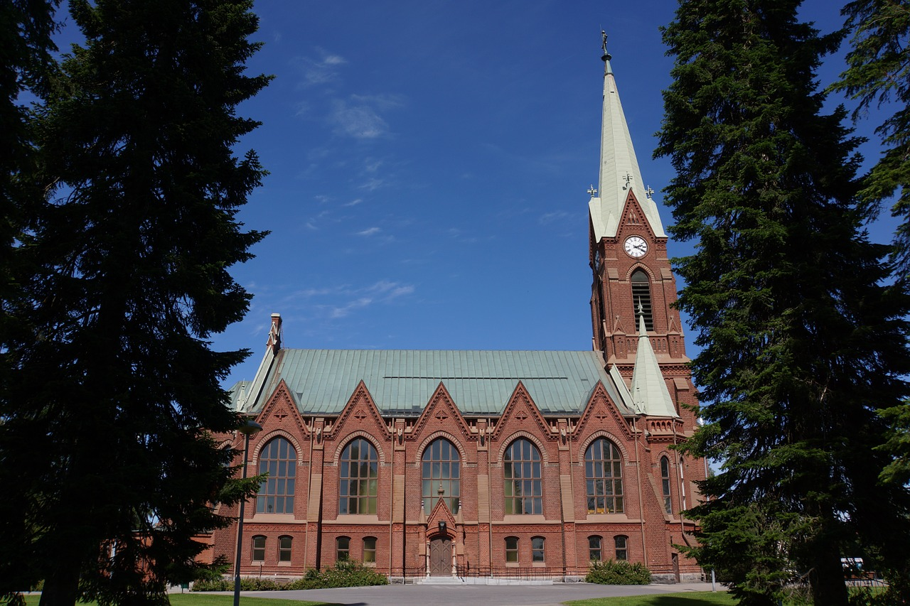 finnish mikkeli cathedral free picture