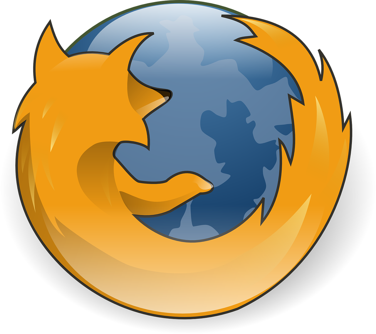 firefox browser logo free photo