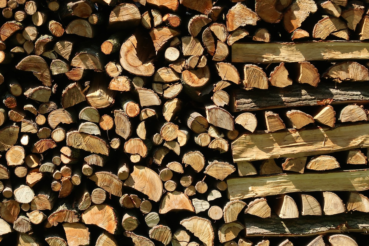 firewood  holzstapel  wood free photo