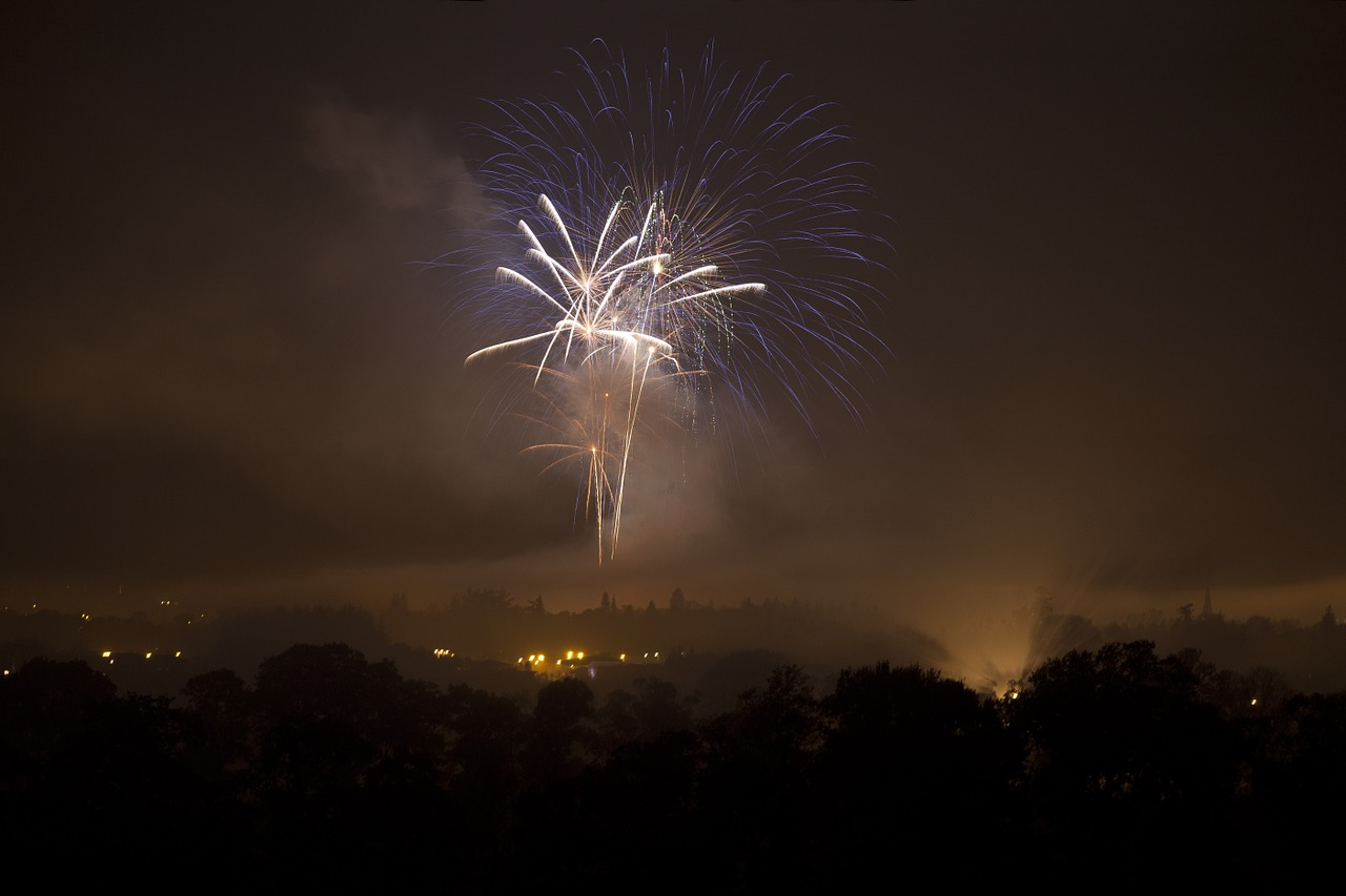 fireworks bonfire night guy fawkes free photo