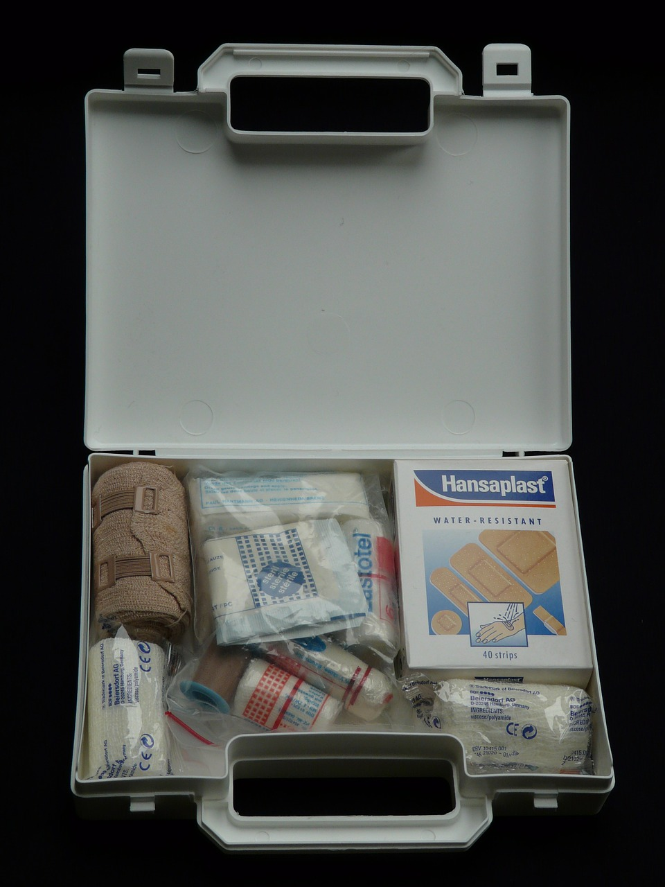 first aid kit help association case free photo