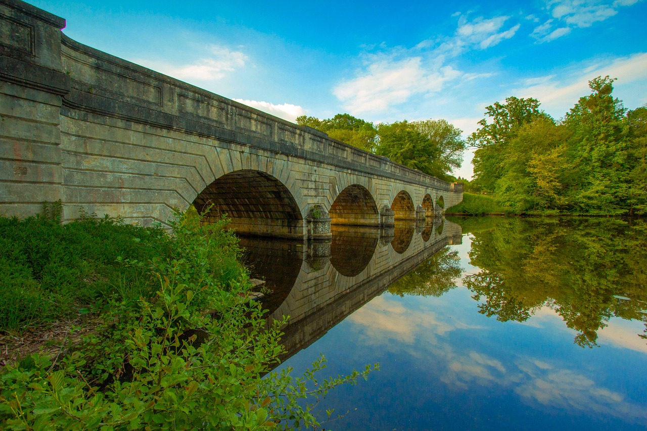 five arch bridge,virginia water,water,free pictures, free photos, free images, royalty free, free illustrations