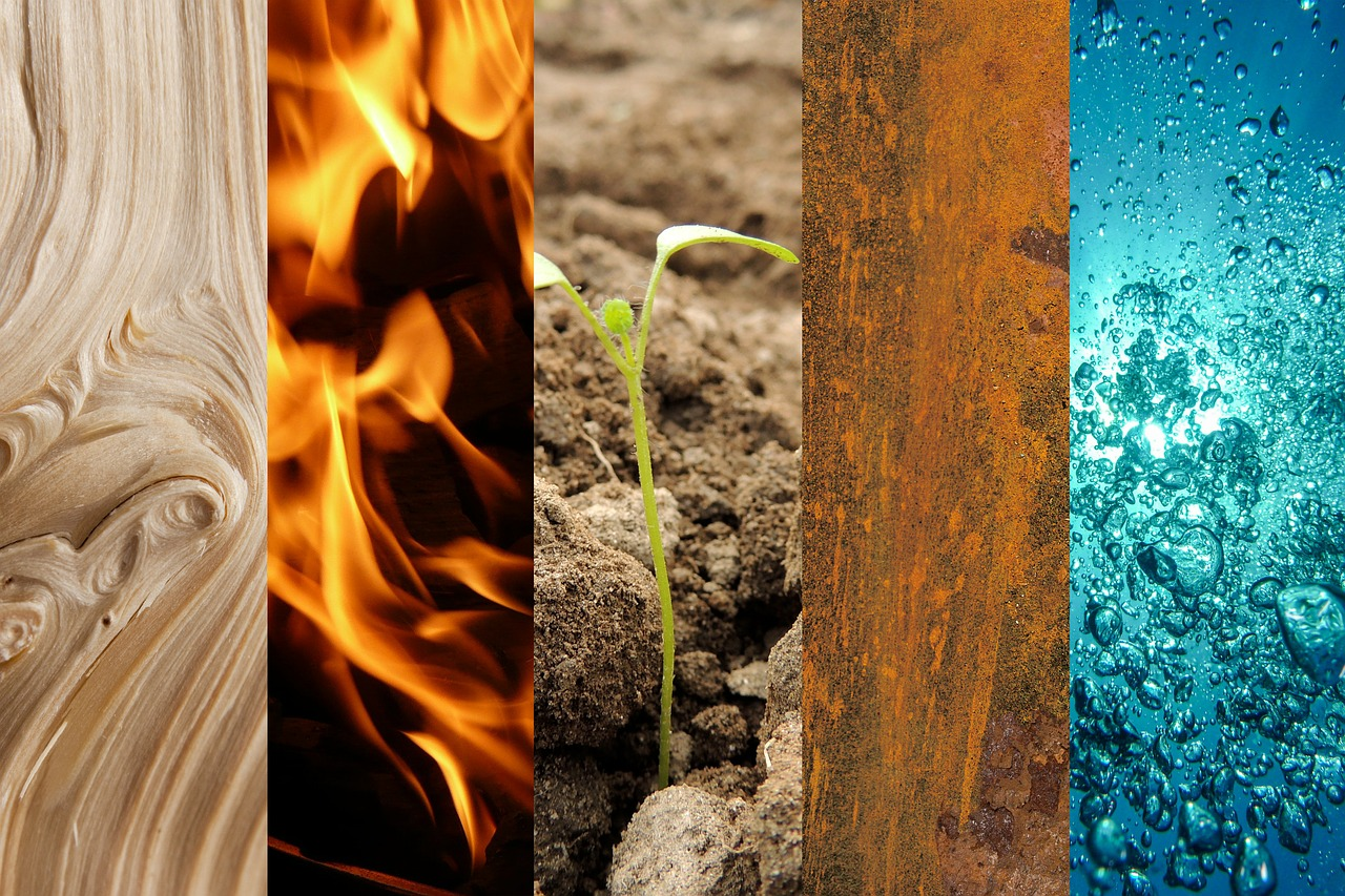five elements wood fire free photo