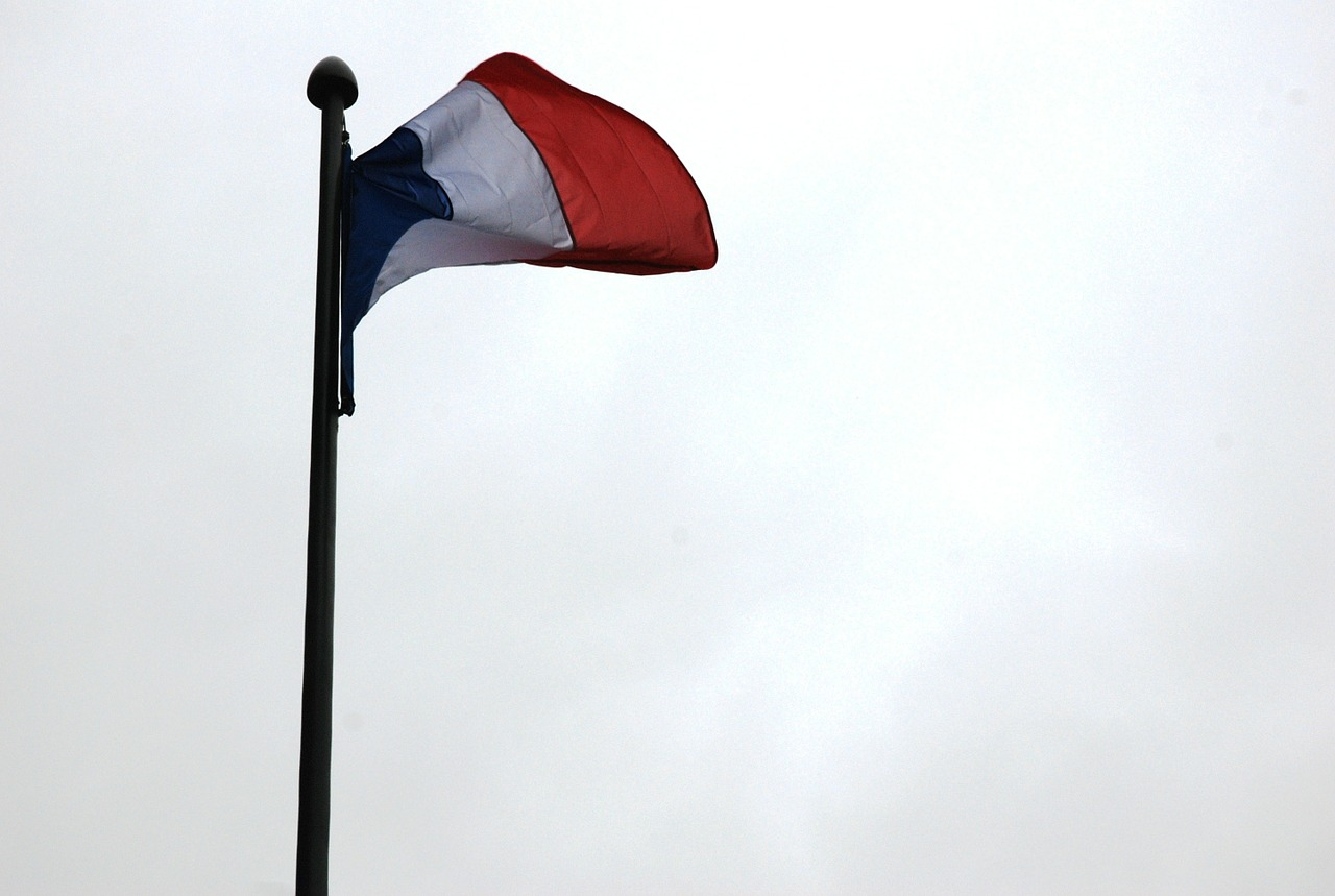 flag france french free photo