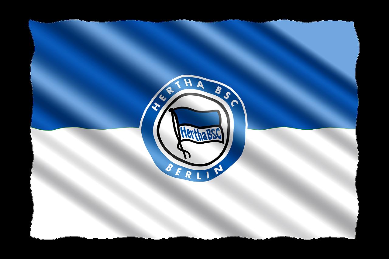 Flag,football,bundesliga,hertha bsc berlin,berlin - free image ...