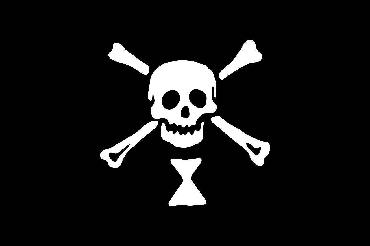 flag pirate jolly roger free photo