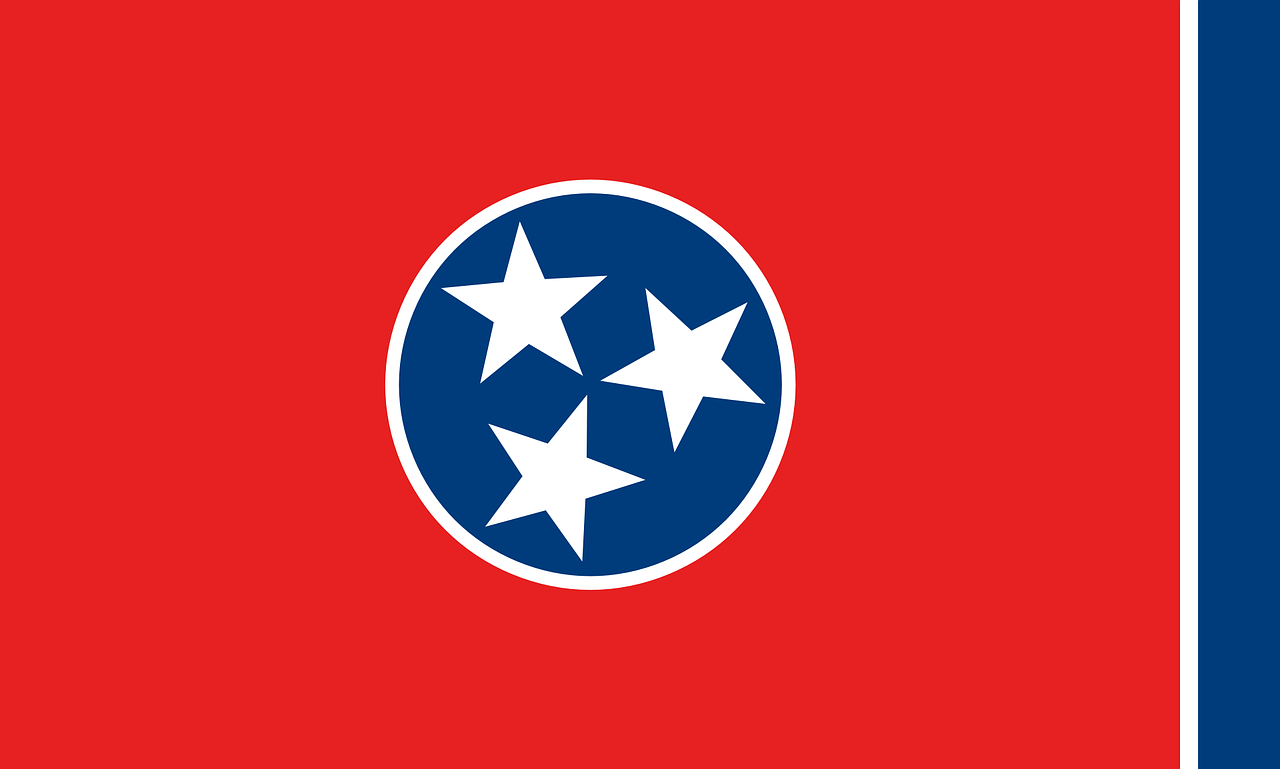 flag tennessee state free photo