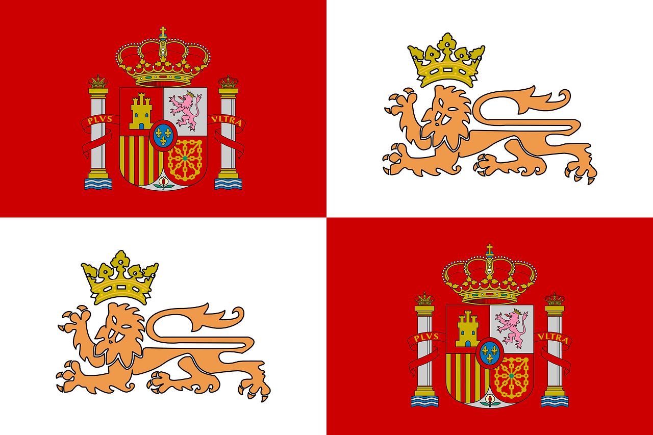 flag spain spanish free photo