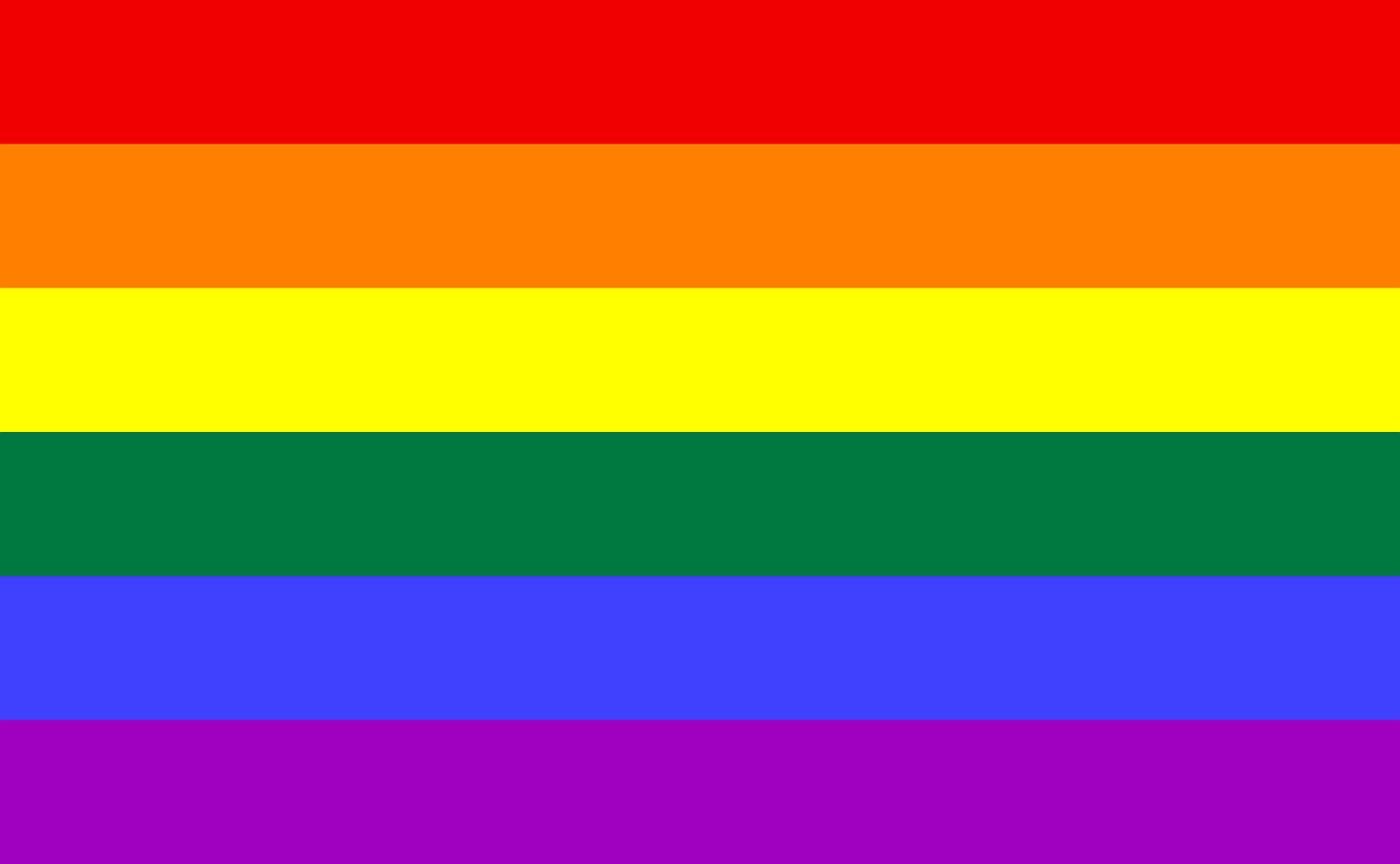 flag rainbow lgbt free photo
