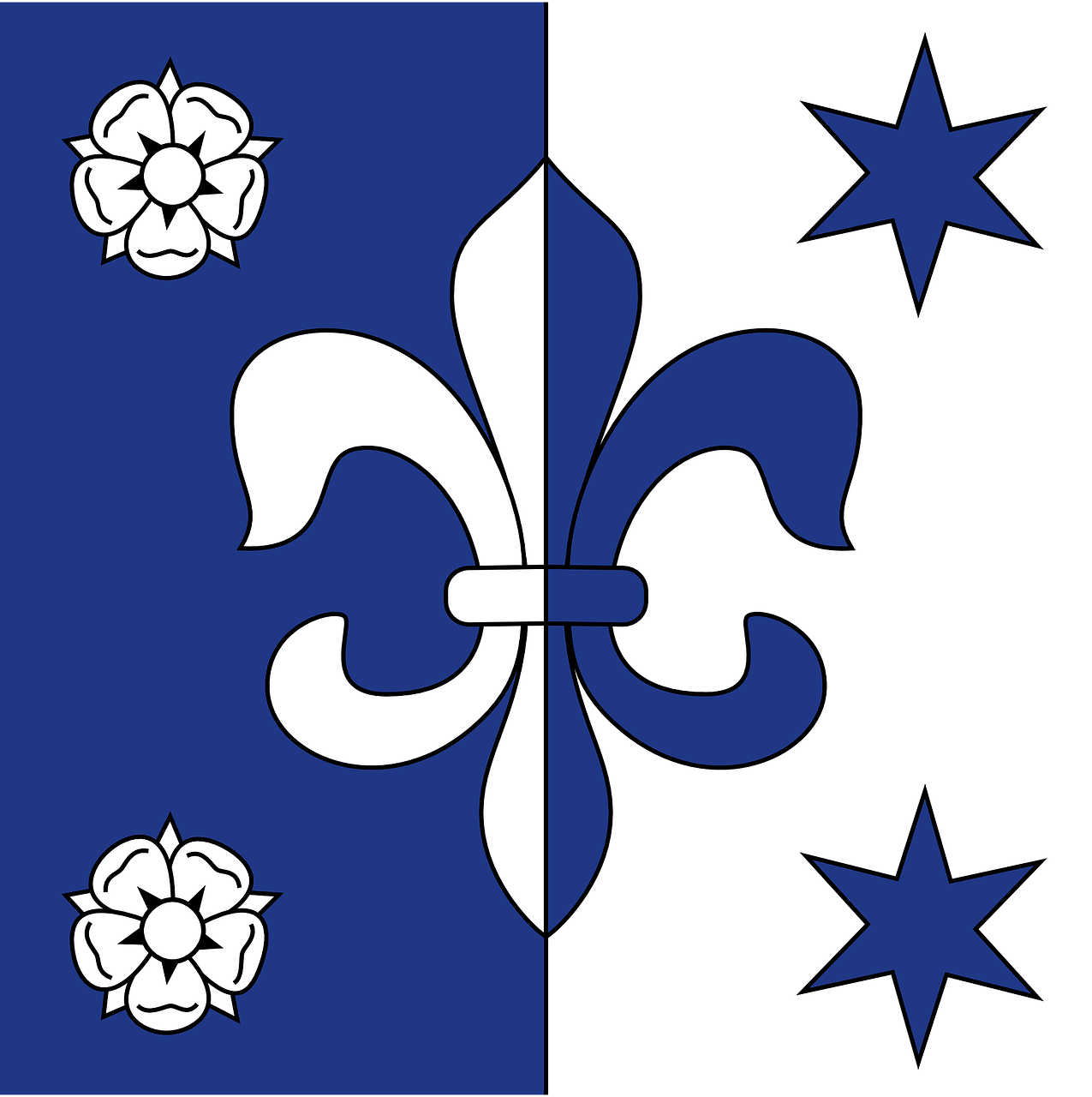 fleur de lis coat or arms heraldry free photo