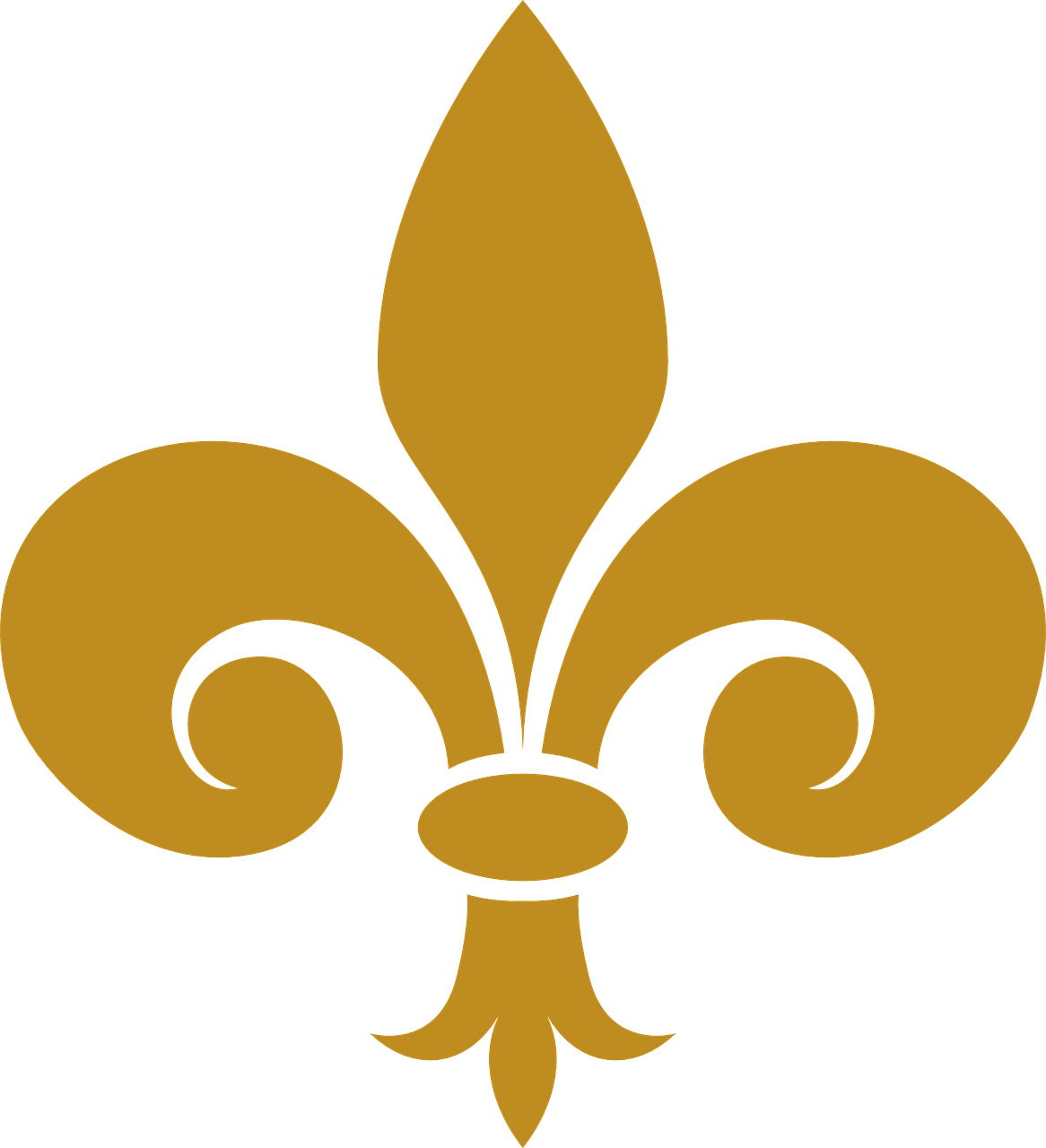 fleur de lis emblem decoration free photo
