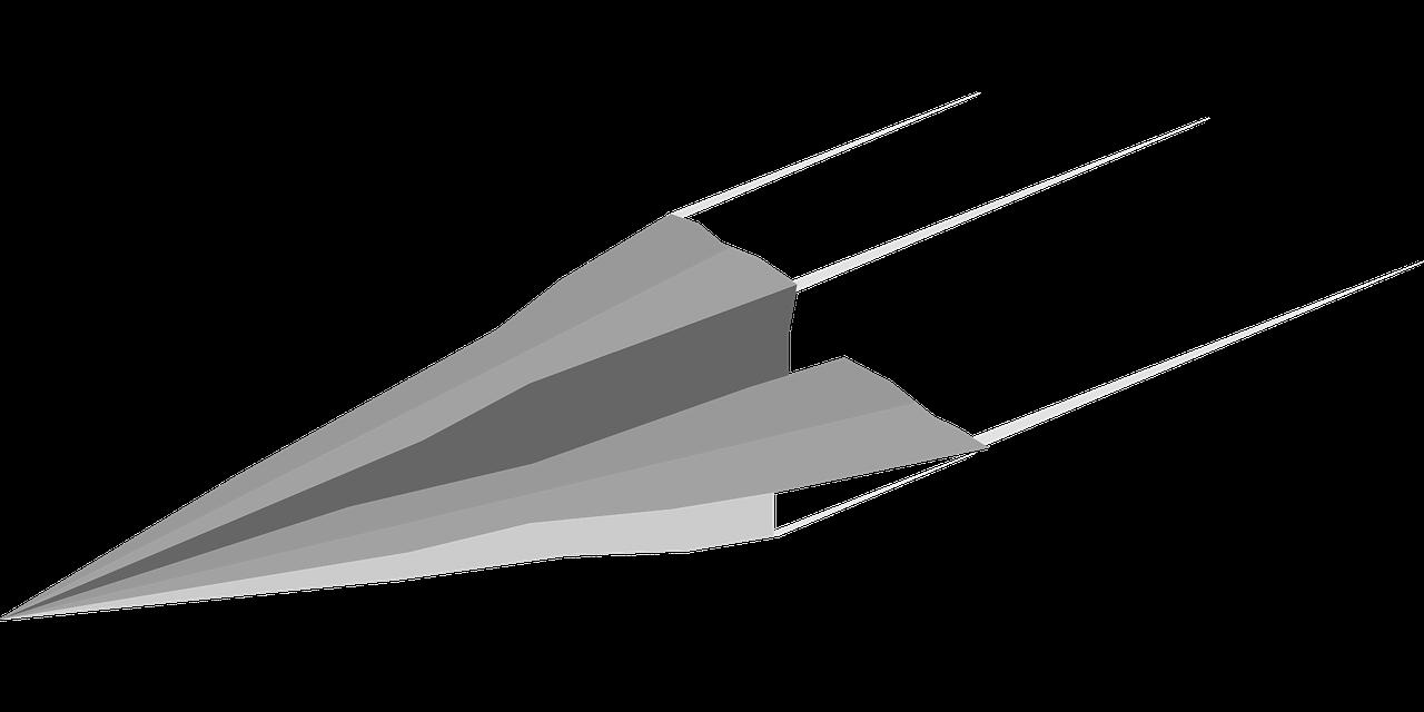 Flight Minimal Paper Free Photo