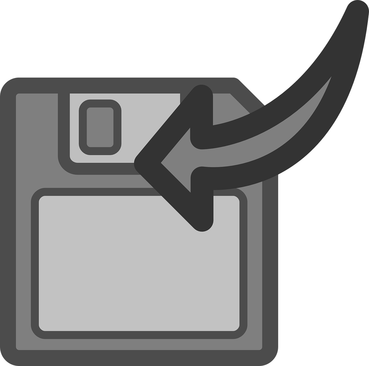 floppy disk save export free photo