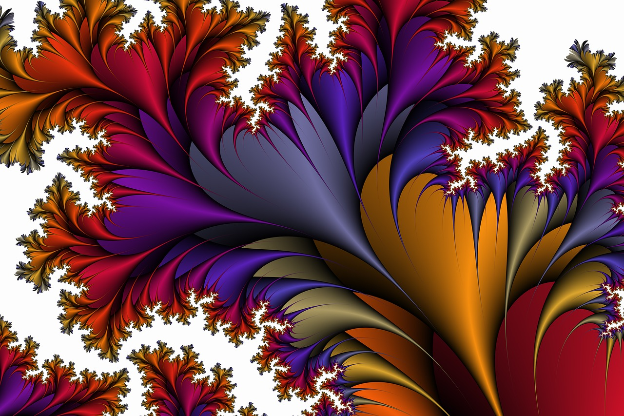flora  entwine  fractals free photo