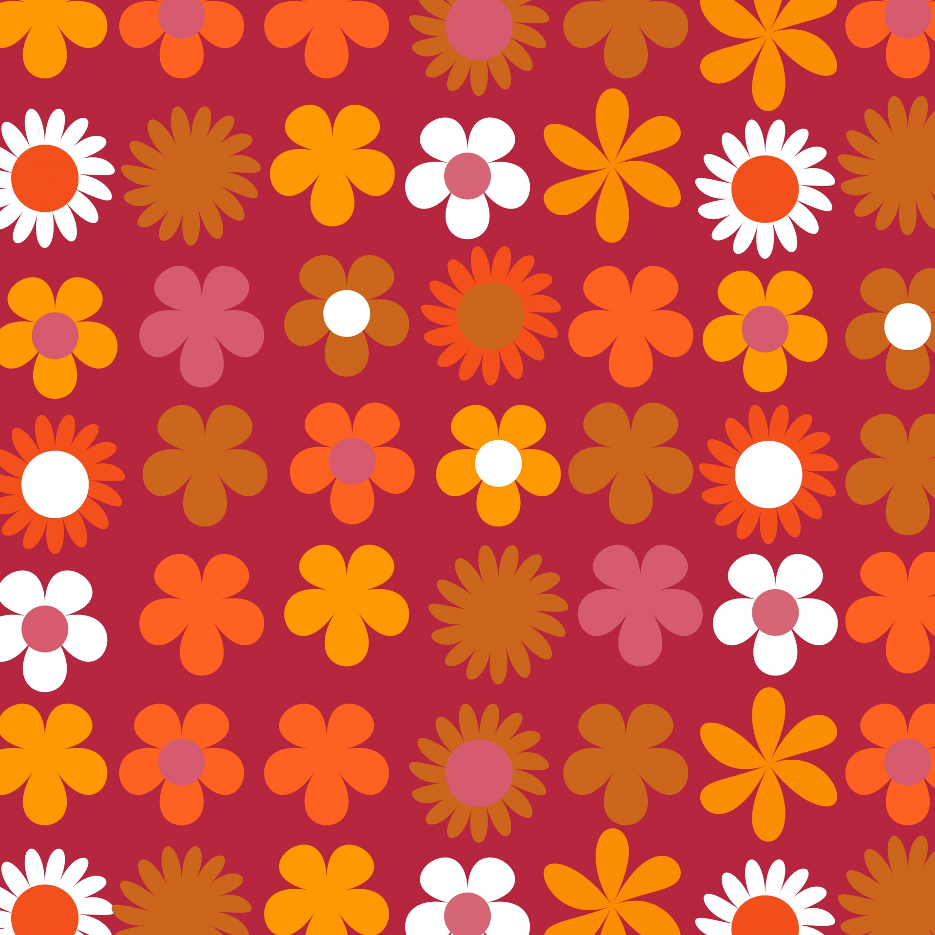 Download Free Photo Of Floral Retro 70s Seventies 1970s From