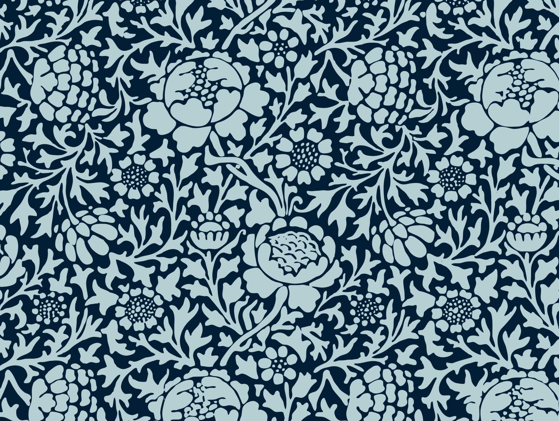 Floral Vintage Wallpaper Background Pattern Free Image From