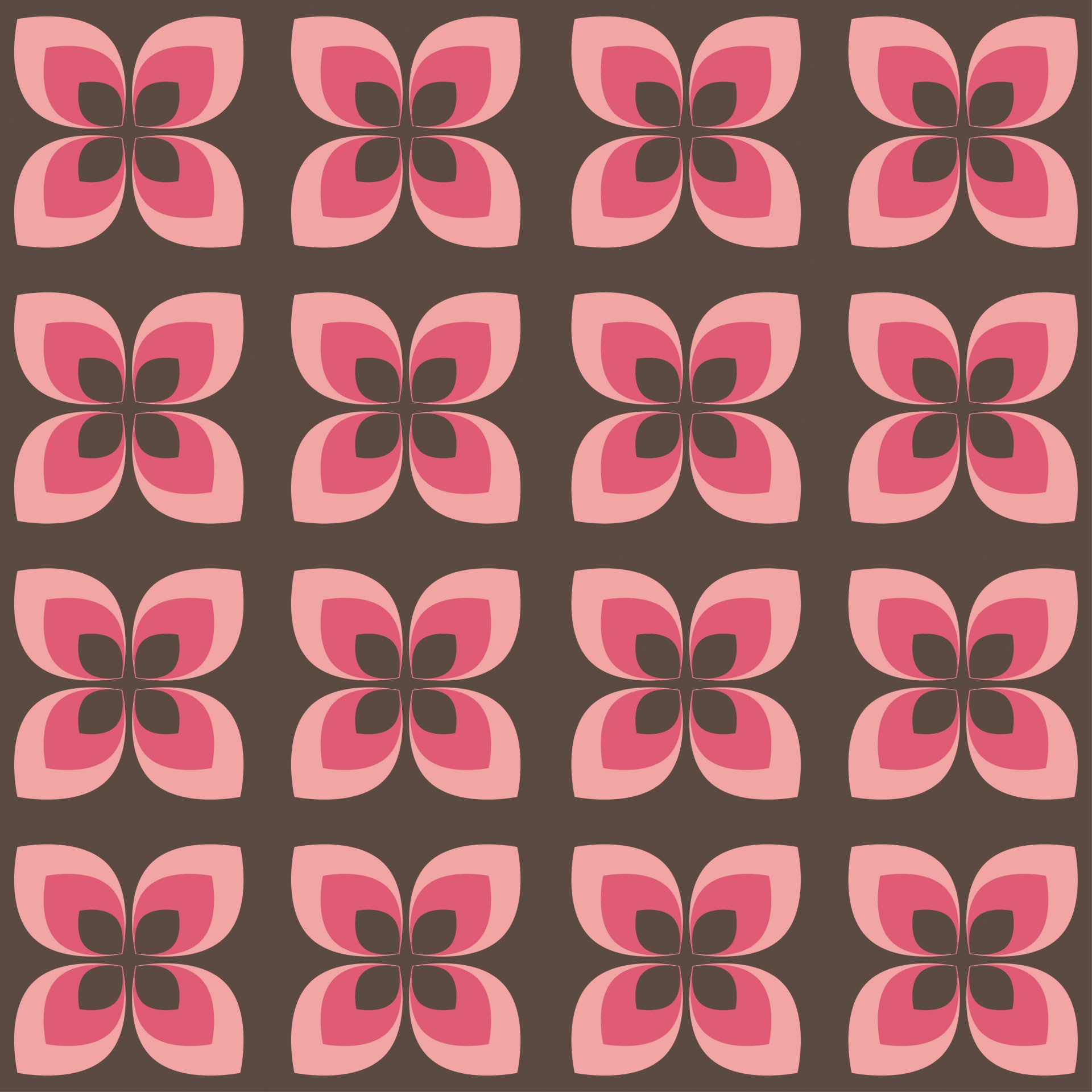 Floral Wallpaper Pattern Abstract 70s Free Image From Needpix Com