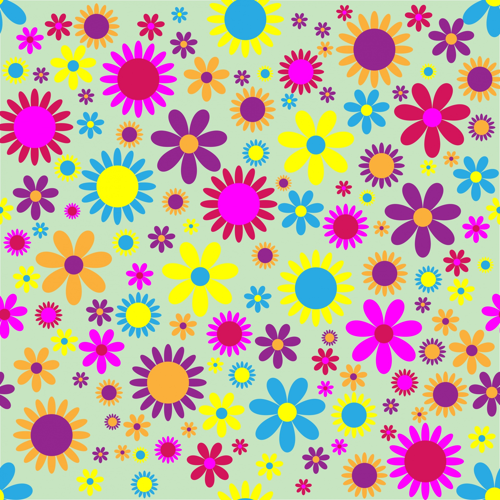 Floral Flowers Wallpaper Paper Background Free Photo From Needpix Com