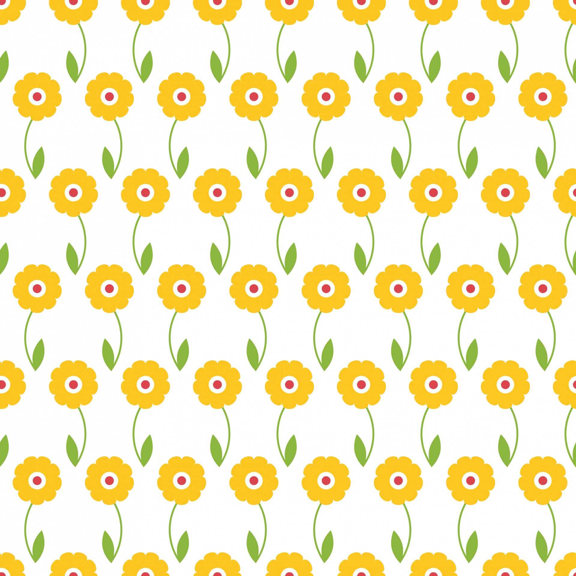 Flowers Floral Wallpaper Yellow White Free Image From Needpix Com