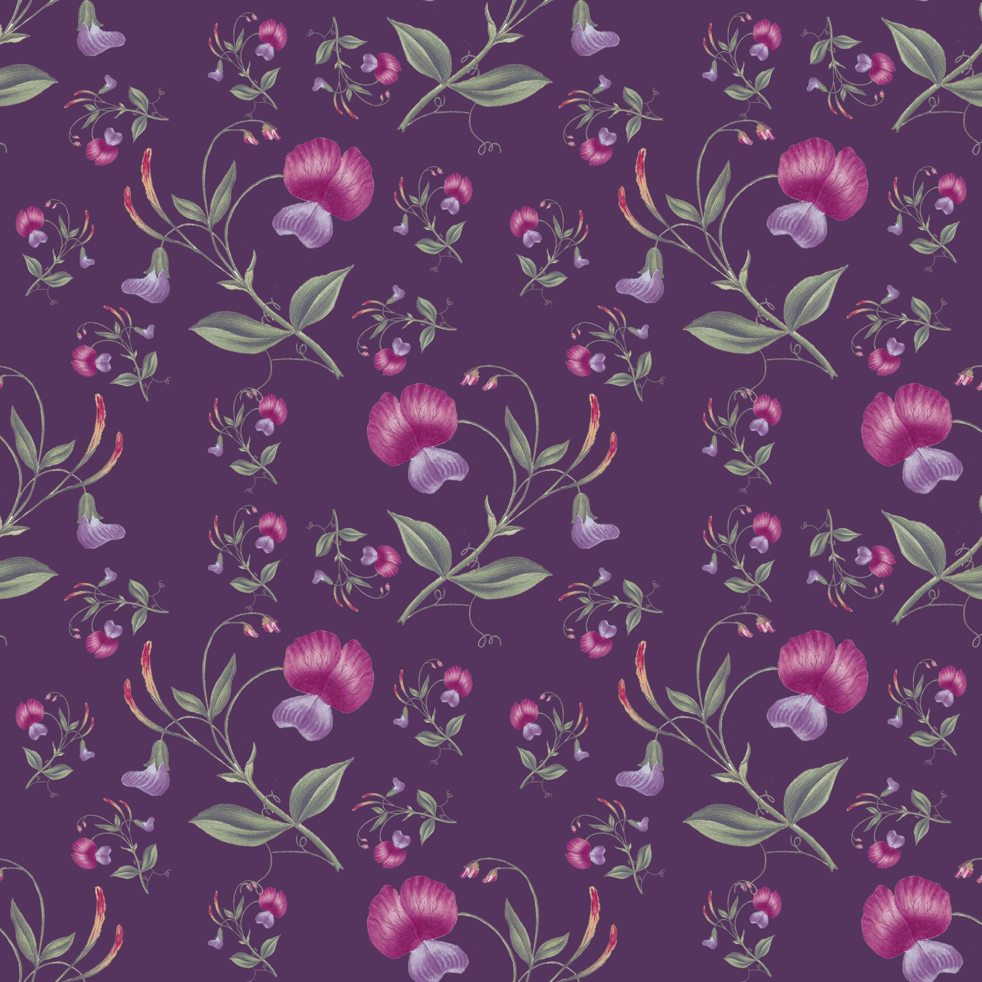 Flowers Floral Wallpaper Background Paper Free Image From