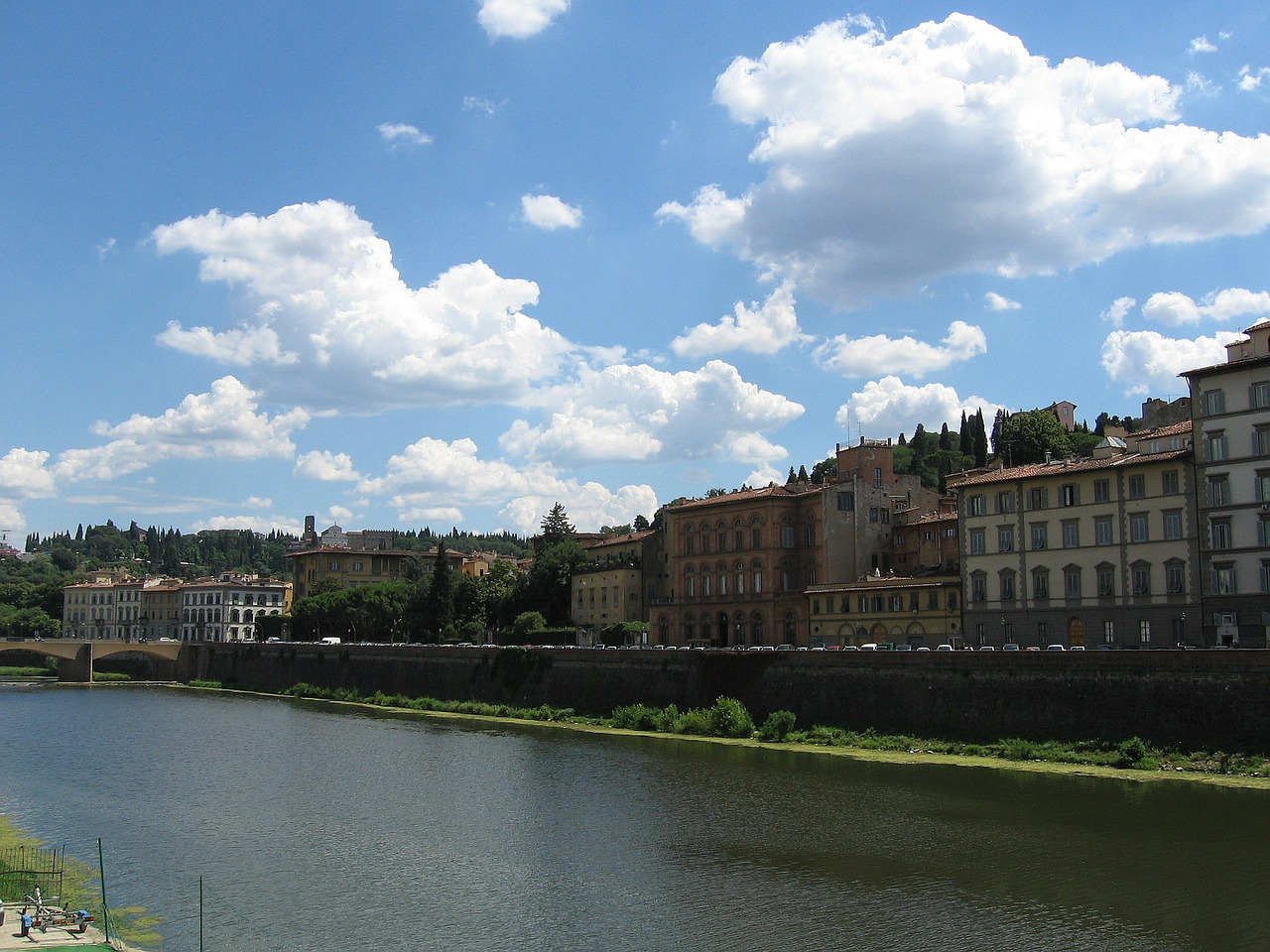 florence river arno river free photo